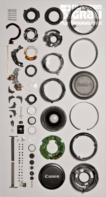 Canon EF 28 - 80mm 1:3,5 - 5,6 II Objektiv